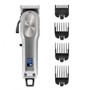 SUPRENT Cordless & Corded Hair Clippers for Men Professional Hair Cutting Kit
