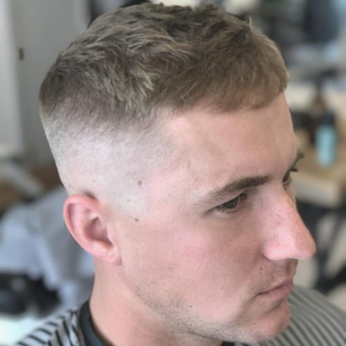 Short Fringe Haircuts for Men