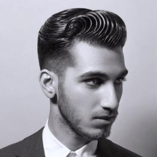 Super Gelled and Combed Hairstyles