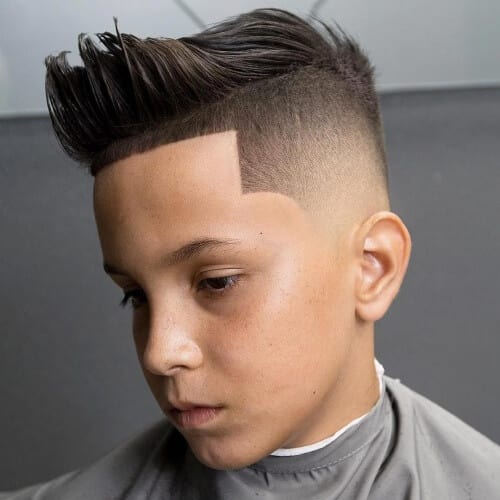Temp Fade Fringe Haircuts Men
