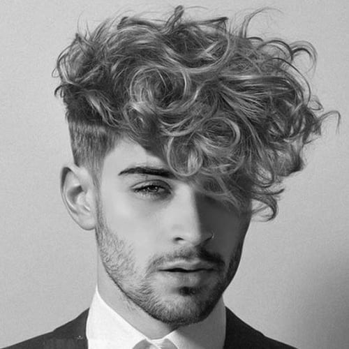Voluminous Fringe Haircuts Men