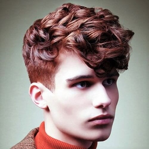Auburn Hair Color for Men