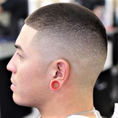 Bald Fade Shape Up Haircut