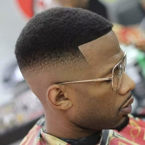 Curved Hairline Shape Up Haircut