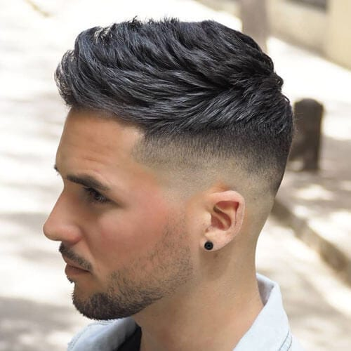 Dark Gray Hair Color for Men