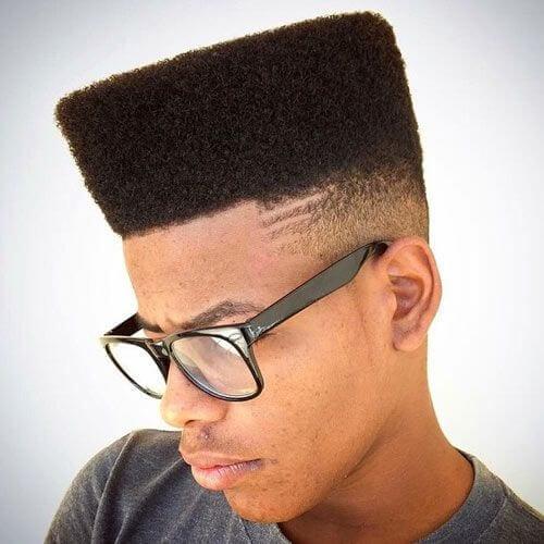 High Top Fade Line Up Haircut