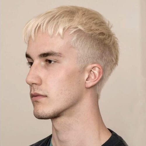 Light Blonde Mens Hair Color