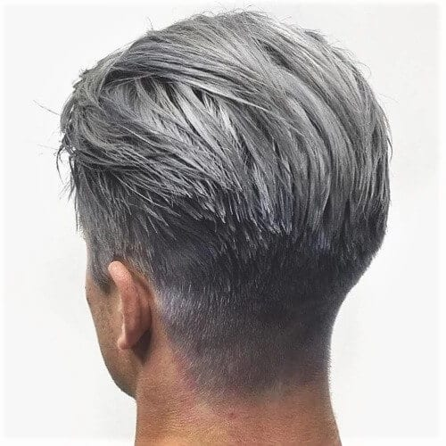 Medium Gray Hair Color for Men