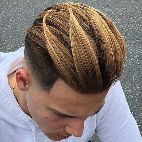Melting Caramel Color Mixture for Men