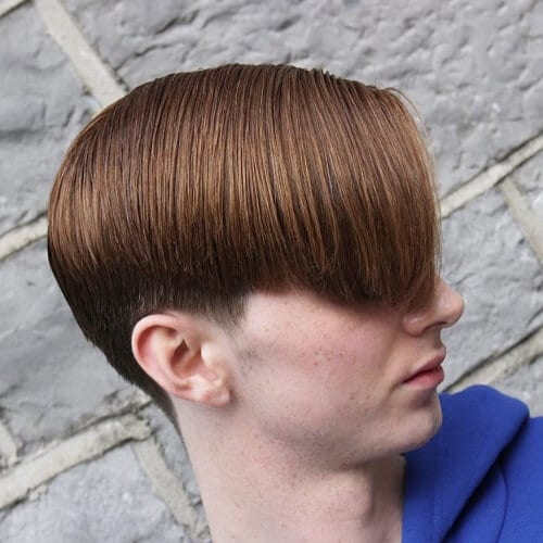 Milk Chocolate Mens Hair Color