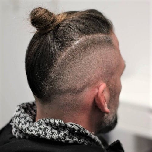 Mohawk Top Knot Men