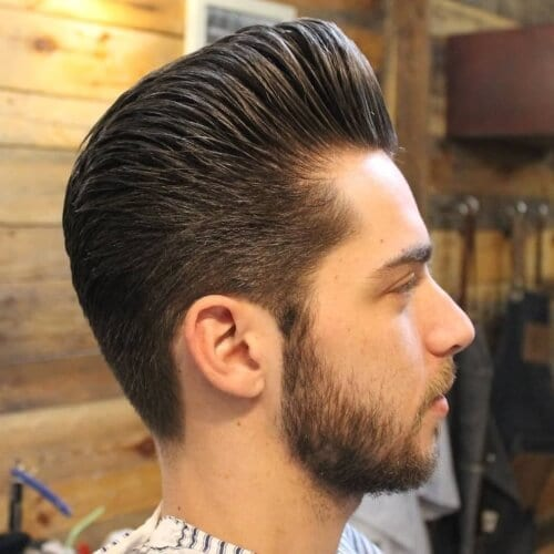 Pompadour Types of Haircuts for Men