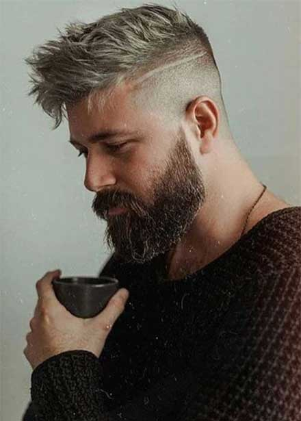 Men\'s Haircuts & Beard Styling Inspiration - Men Hairstyles ...