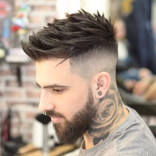 Spiky Textured Haircut