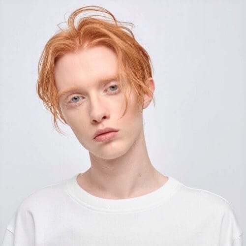 Strawberry Blonde Mens Hair Color