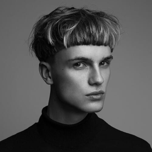 Textured Bowl Cut