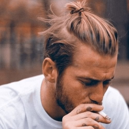 Top Knot with Short Sides and Back