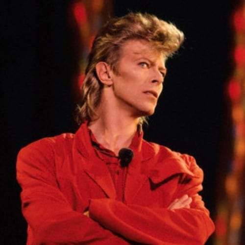the david bowie mullet