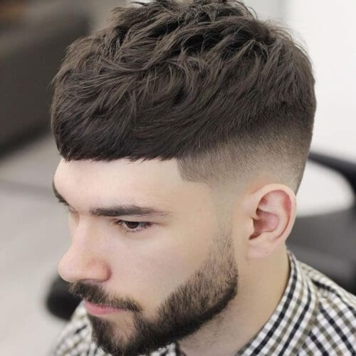 Cropped Short Business Haircut