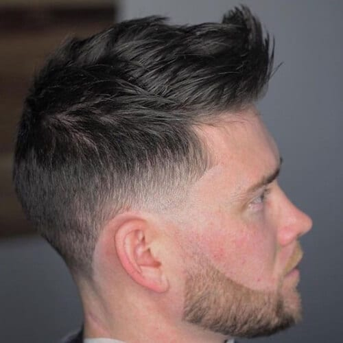 Faux Hawk Hairstyles for Men with Straight Hair