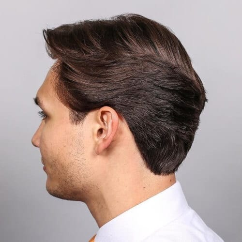 Feathered Haircut for Men