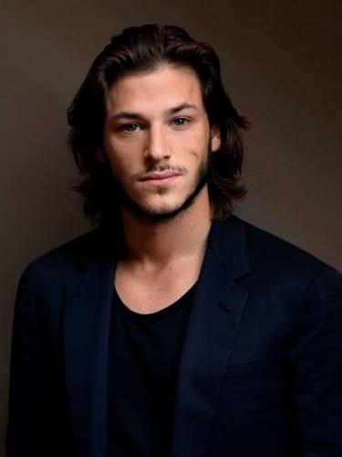 Gaspard Ulliel medium straight hair]