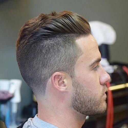 Gradual Top Haircut