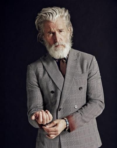 Layered Haircuts for Older Men