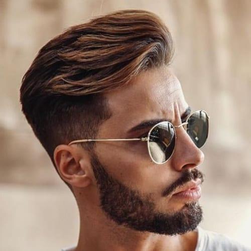 Layered Short Haircuts with Fade