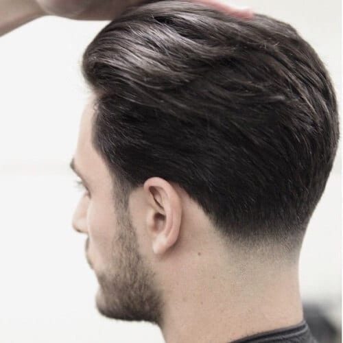 Nape Fade Business Man Haircut