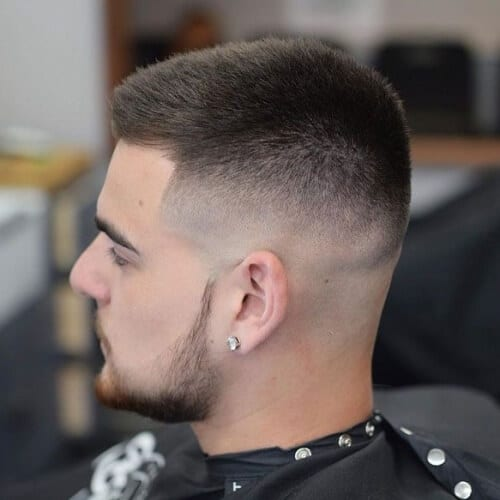 Skin Fade Hairstyles for Straight and Thick Hair