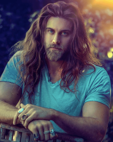 brock o'hurn male celebrities with long hair