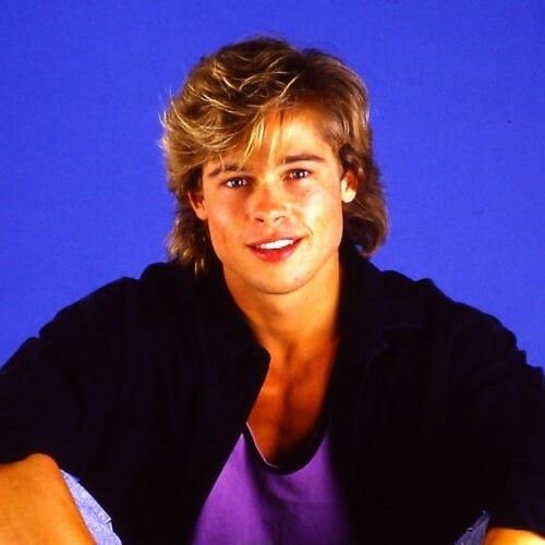 Brad Pitt Mullet