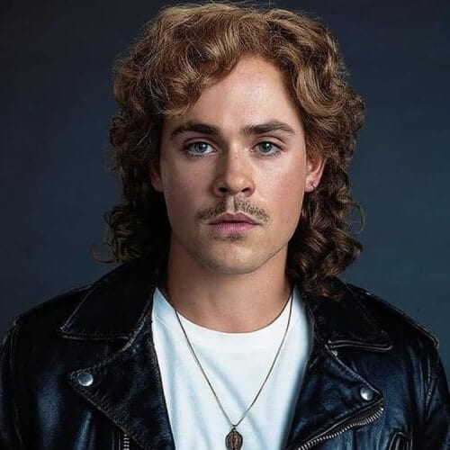 Dacre Montgomery Mullet
