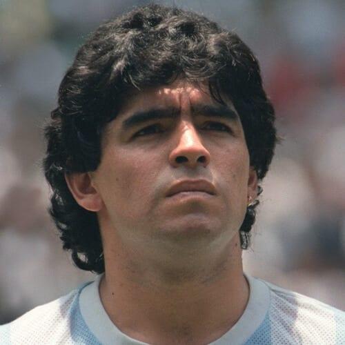 Diego Maradona Mullet