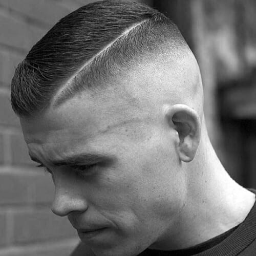High and Tight Haircuts for Square Shape Face