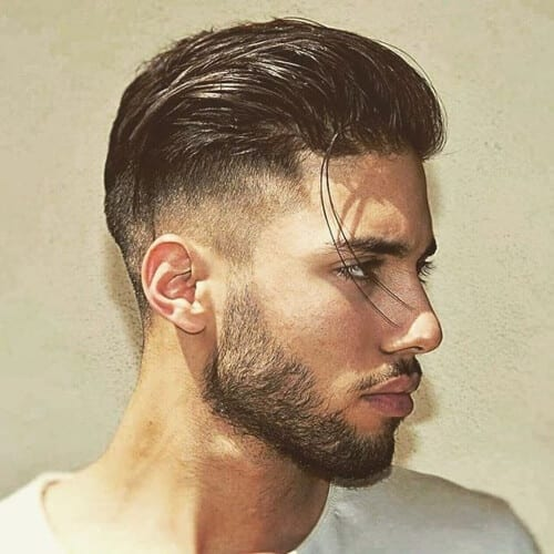 Slick Back Best Hairstyles for Diamond Face Shape