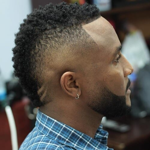 South of France Haircut for Black Men