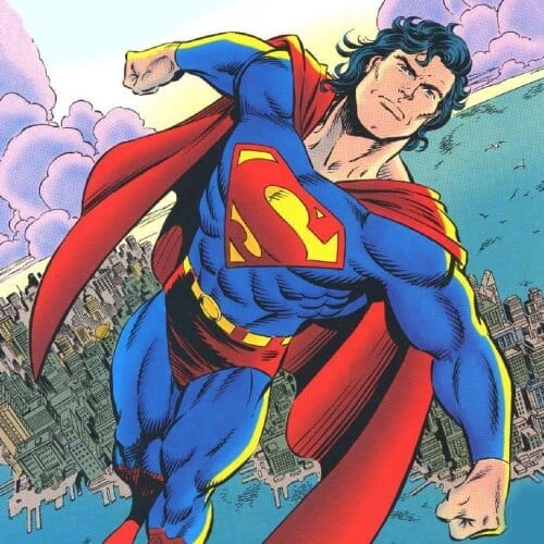 In the early 1990s, even Superman showed off his flowing locks with a mullet haircut. For thirty-nine issues, the DC Comics superstar character appeared on covers with the memorable hairstyle.