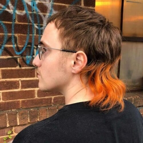 Two Tone Mullet