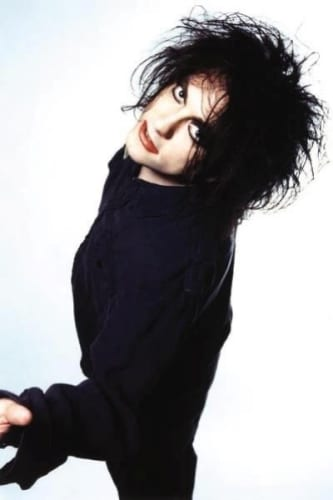 robert smith of the cure hair