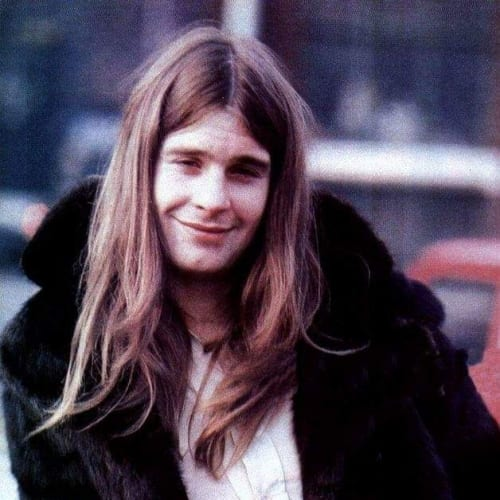 a young ozzy osbourne