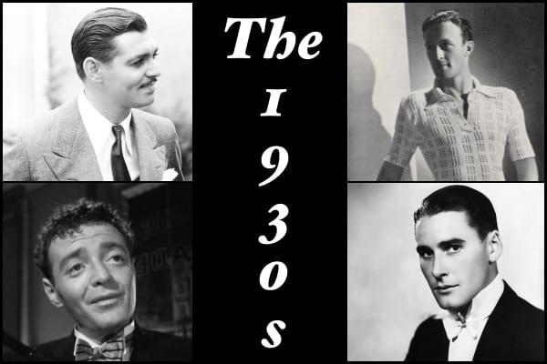 1930s men hairstyles
