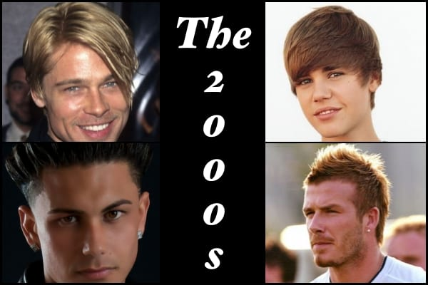 2000s hairstyles collage