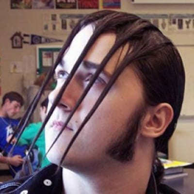 Behind the Bars - Worst Spiked Haircuts for Men