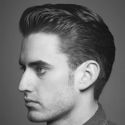 Classic 1930s Men's Hairstyle