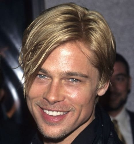 Side Bangs Hairstyles Brad Pitt Style