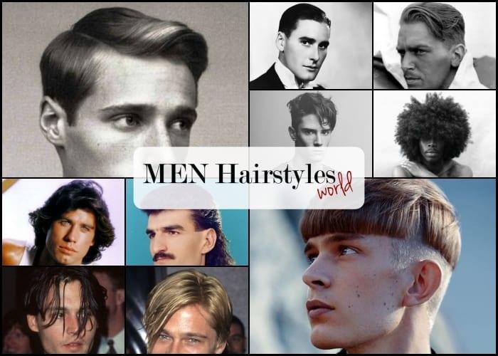 mens hairstyles through the decades